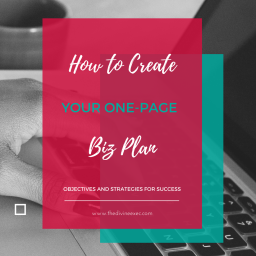 How to Create Your One-Page Biz Plan